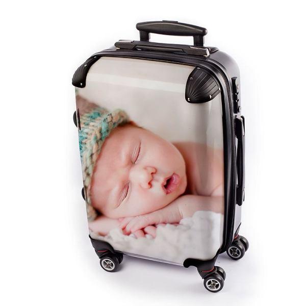 Personalised Suitcase UK. Custom Suitcase. Personalise Luggage