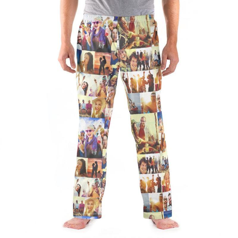 Personalized Mens Pajamas Custom Pajama Bottoms
