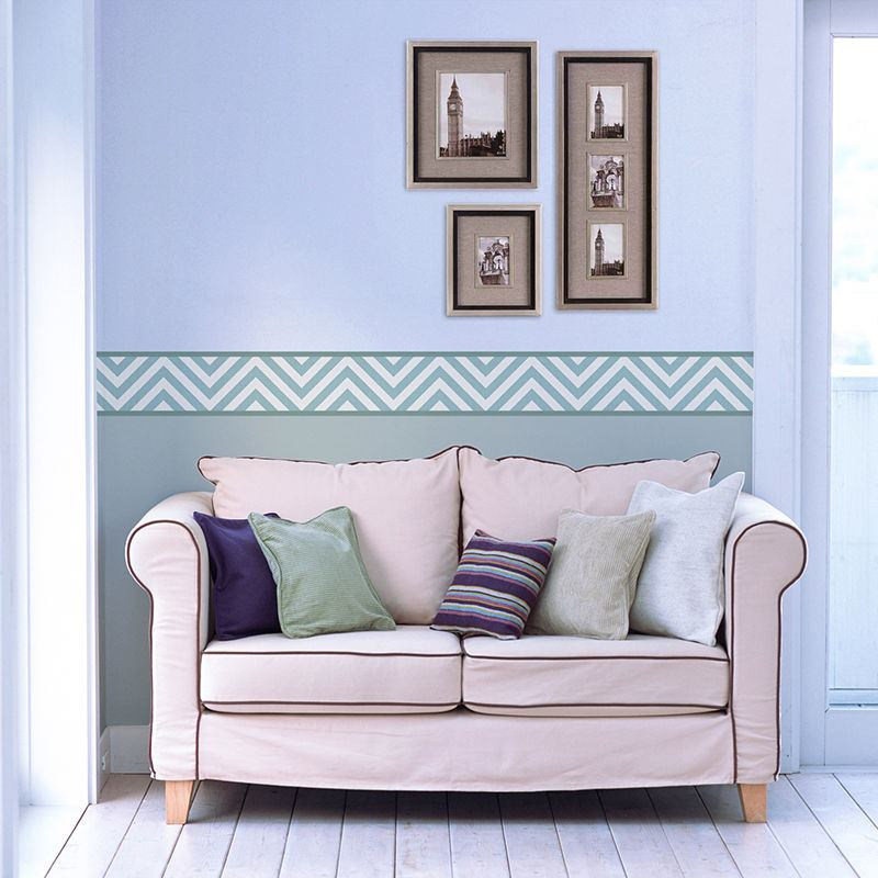 wallpaper borders: personalised wide wallpaper borders uk