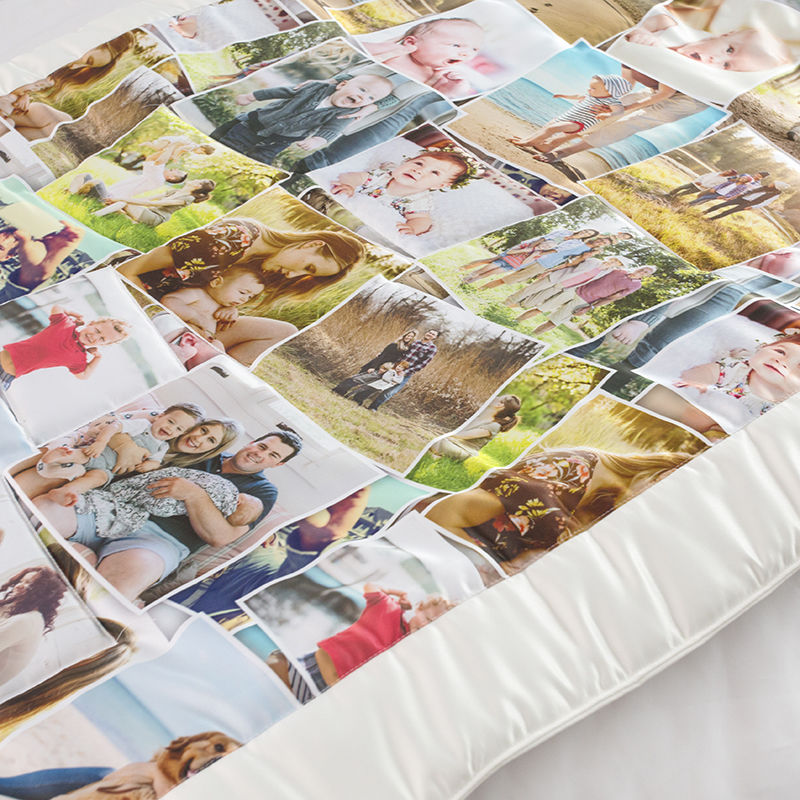 Photo Quilts Printing Personalized Quilts With Pictures