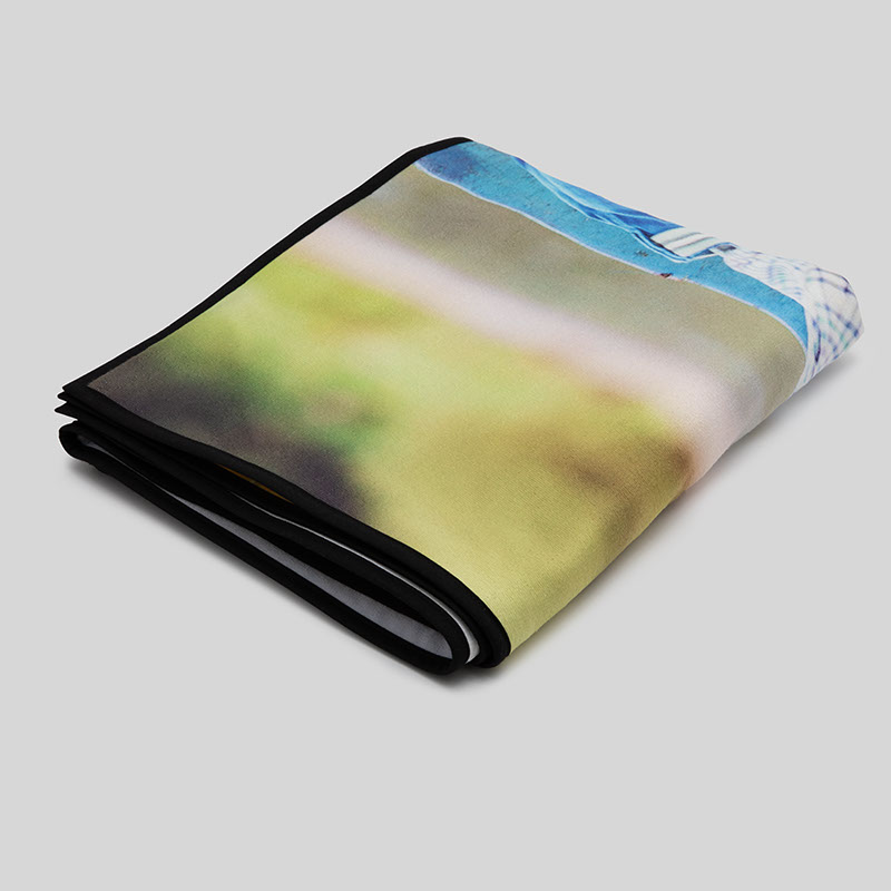 drap de bain personnalise avec photo idee cadeau photo