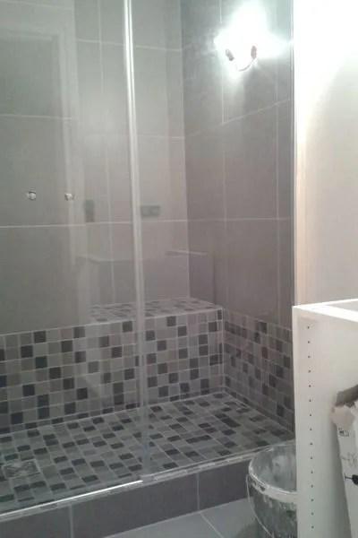 une douche a l italienne avec marche