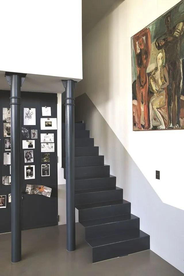 Atelier Dartiste Prs De Paris Ct Maison