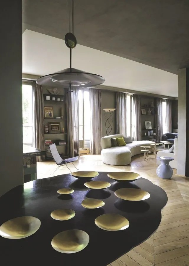 Appartement Paris 6me 150m2 Dune Douce Modernit