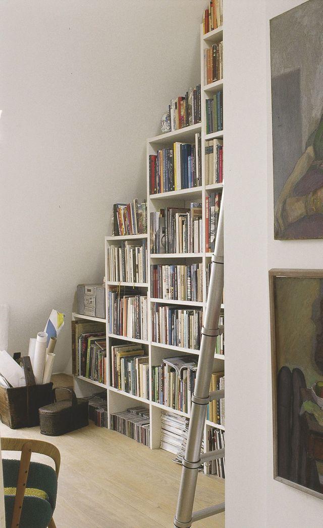 bibliotheque petit espace discrete