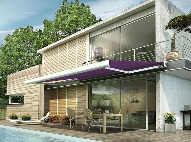 le store banne de terrasse cote maison