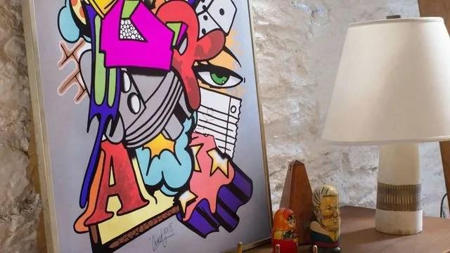 deco murale ikea met le street art a