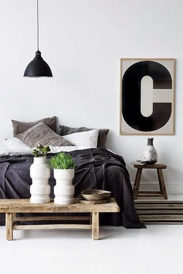 Relooking Dco Chambre En Noir Et Blanc Ct Maison