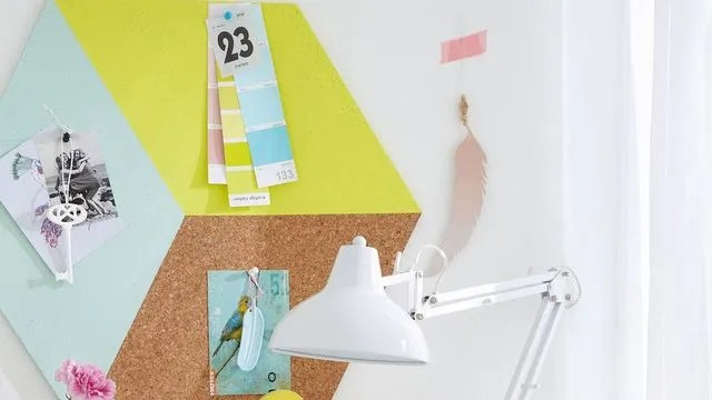 DIY Raliser Un Tableau Daffichage Dco En Lige Ct