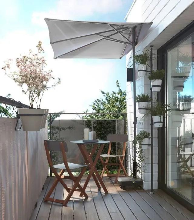 petit parasol pour balcon
