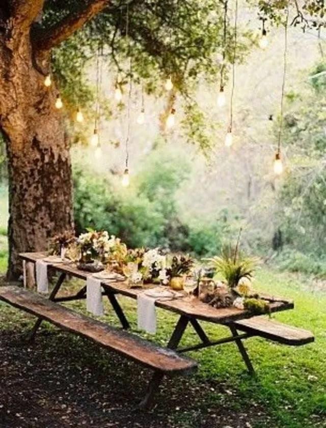 Dco Table T Jardin Terrasse Ou Plage Ct Maison