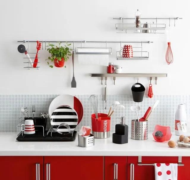 rangement cuisine deco mural