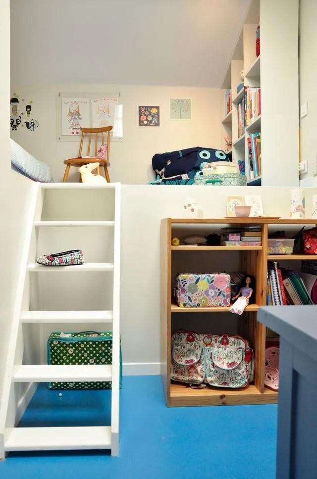 petite chambre enfant sous combles