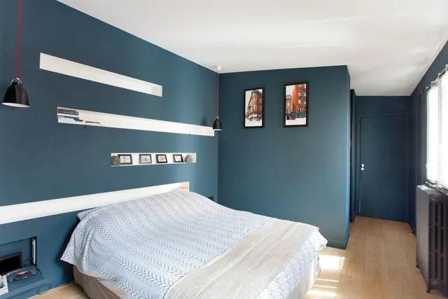 Peinture Bleue Nuit Chambre | Kapokto