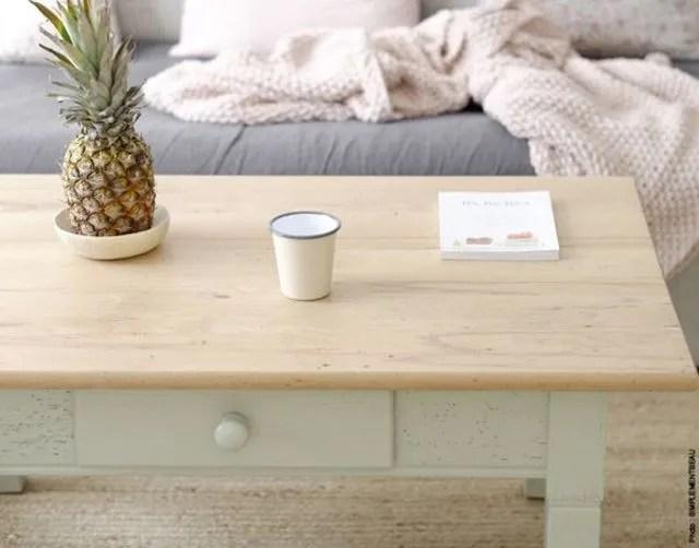 repeindre une vieille table en bois