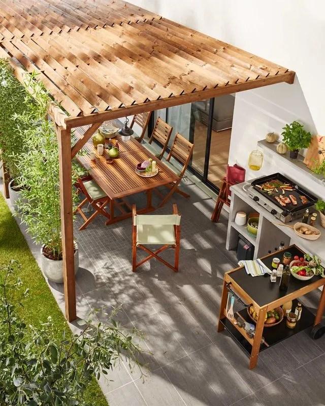 Pergola Et Tonnelle Pour Le Jardin Ou La Terrasse Notre Selection Tendance Cote Maison