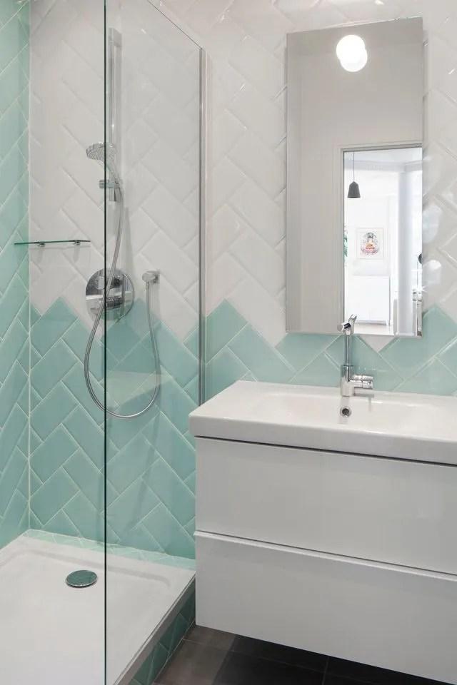 Bleu Dans La Salle De Bains 10 Inspirations Deco Cote Maison
