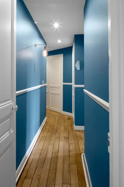 peinture couloir quelle couleur pour