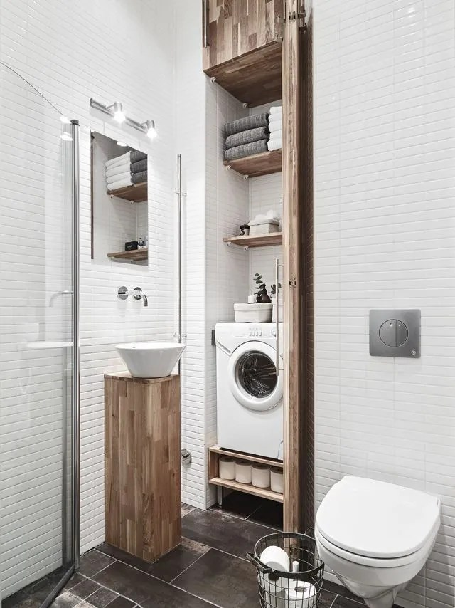 gain de place petite salle de bain