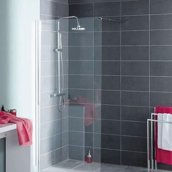 agrandir une douche a l italienne carrelee