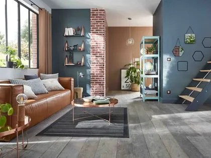 agrandir avec de la peinture grise donnez a votre salon des allures de loft