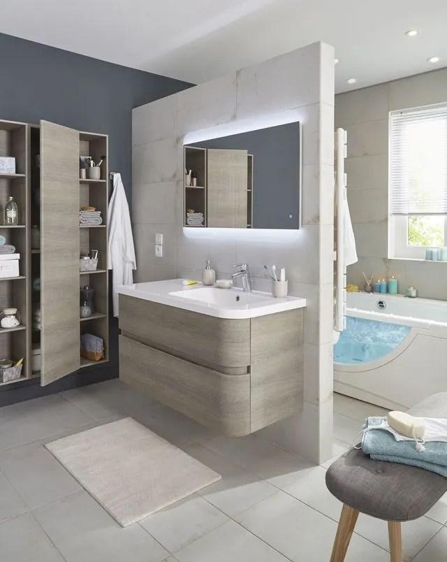 Meuble Salle Bain Bois Design Ikea Lapeyre Ct Maison