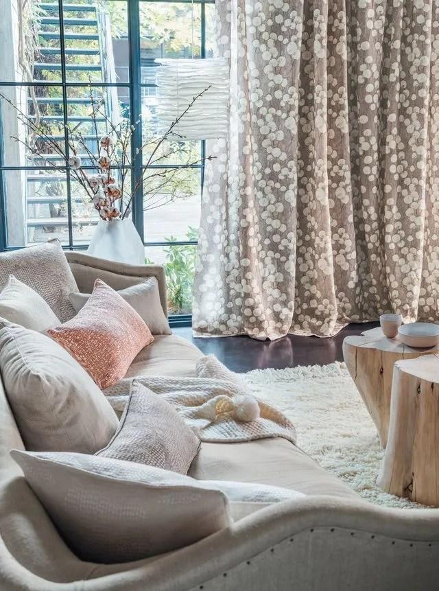 rideaux pour le salon selection deco