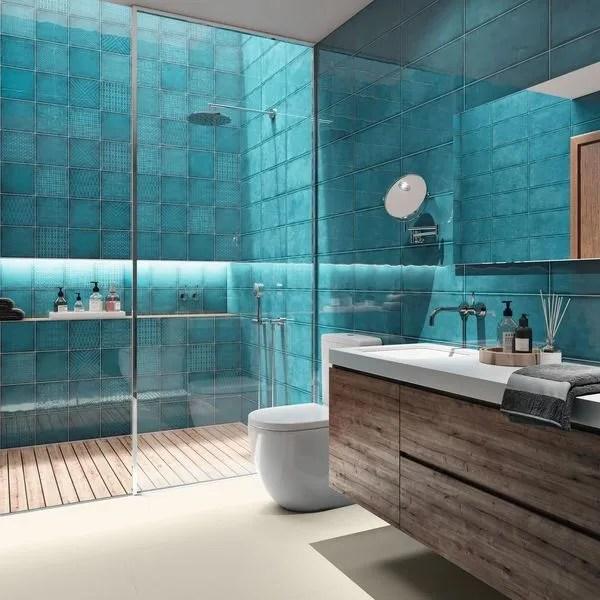Carrelage Bleu Salle De Bain Venus Et Judes