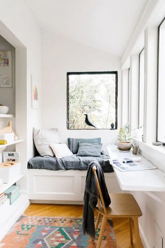 creer un coin bureau dans un petit espace