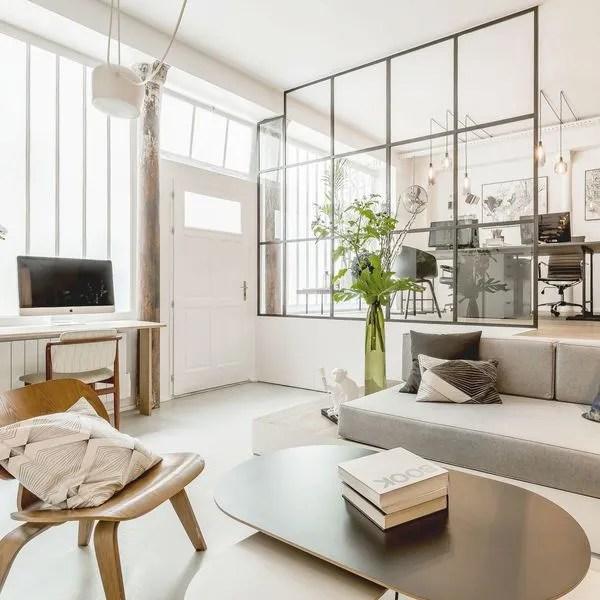 agrandir un salon clair et cocooning