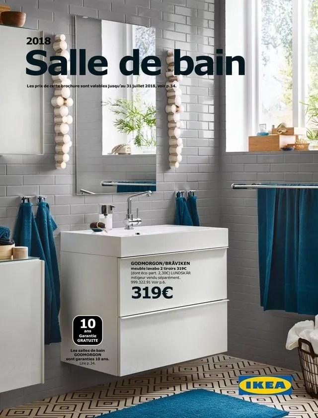 Salle De Bain Ikea Le Nouveau Catalogue 2018 Ct Maison