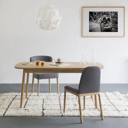 table extensible cote maison