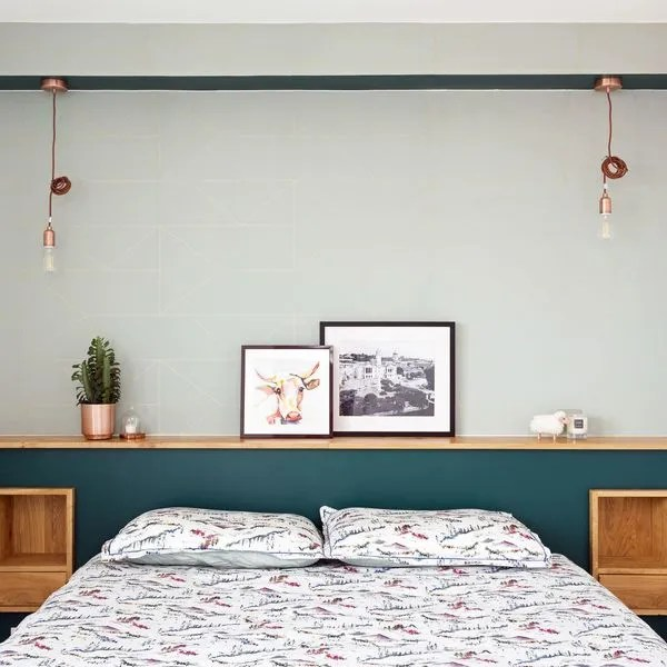 agrandir une tete de lit epuree et chaleureuse