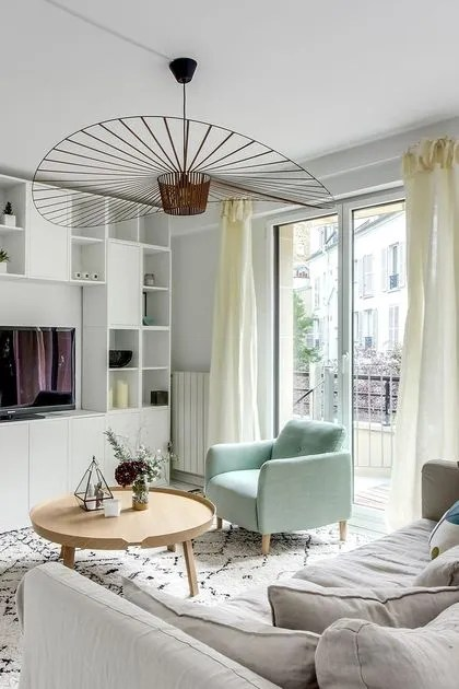 agrandir un salon cosy d inspiration scandinave