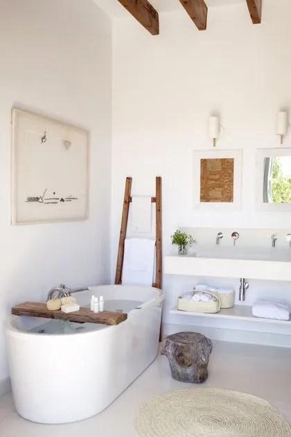 salle de bains zen esprit spa cote maison