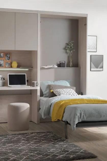 lit escamotable gain de place cote maison