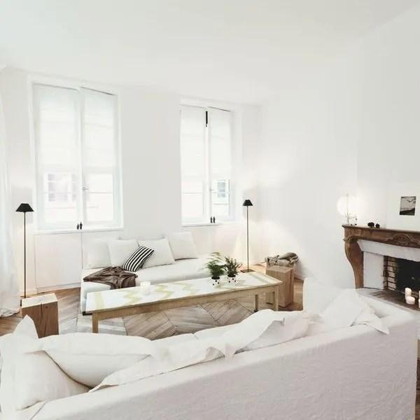 decoration salon vive le blanc cote