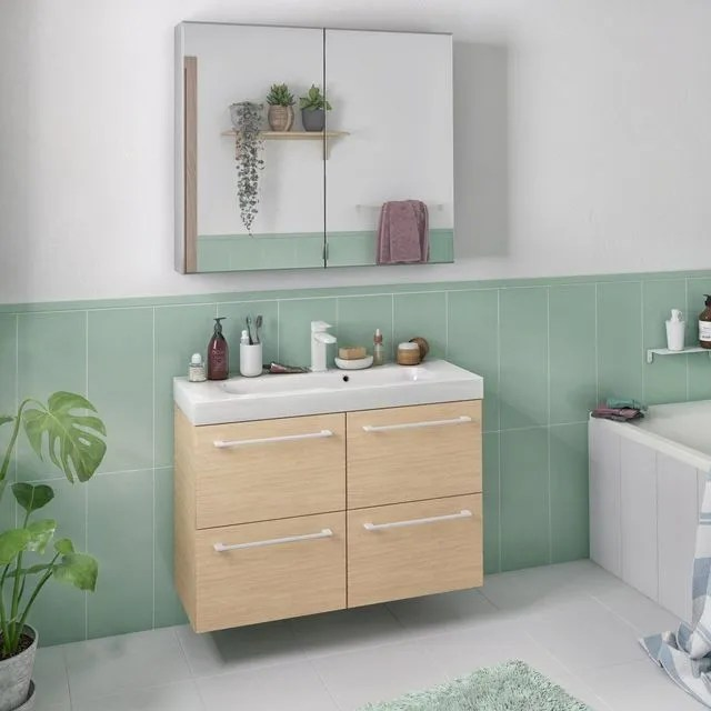 Amenager Une Petite Salle De Bains 12 Solutions Bien Pensees Cote Maison