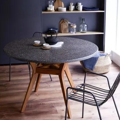 table ronde modeles pour salle a