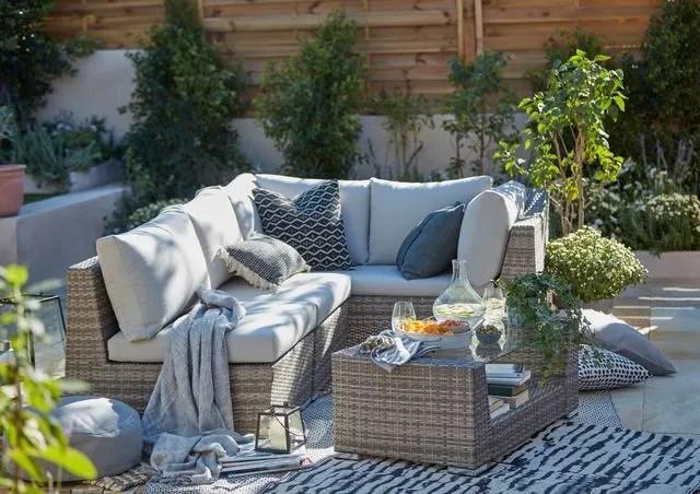 salons de jardin en resine mobilier