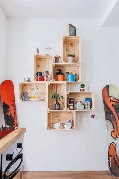 diy recycler les caisses en bois en