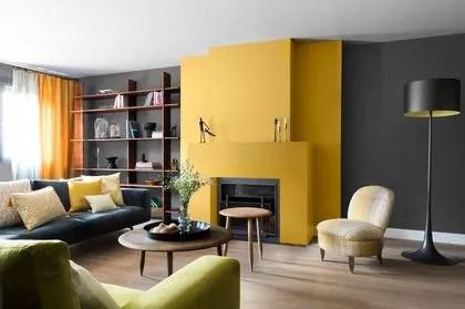 peinture salon 43 couleurs tendance