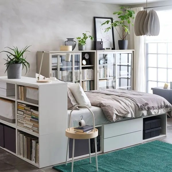 tete de lit avec rangement modeles a