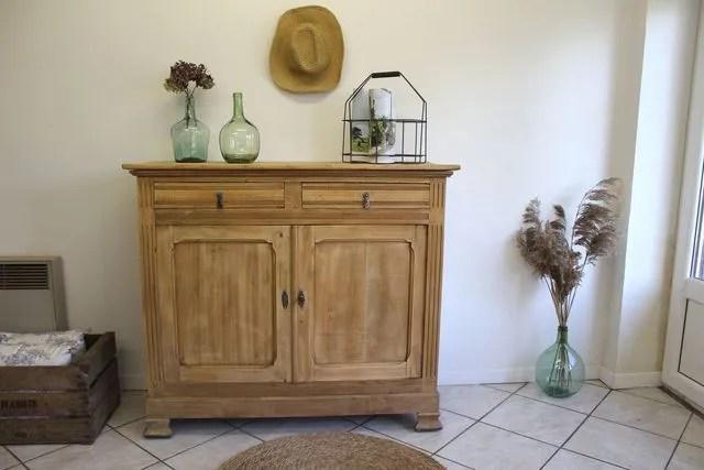 restaurer un meuble en bois les