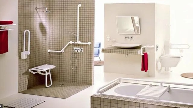 une salle de bains accessible a tous