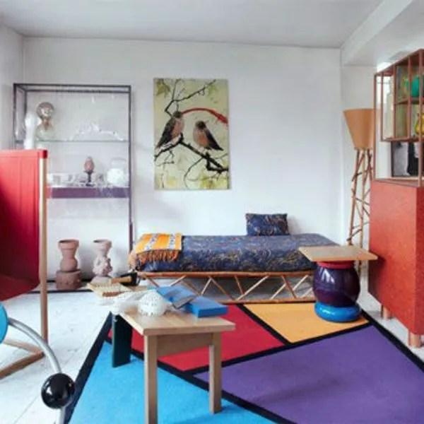 deco du salon avec un tapis 16 tapis