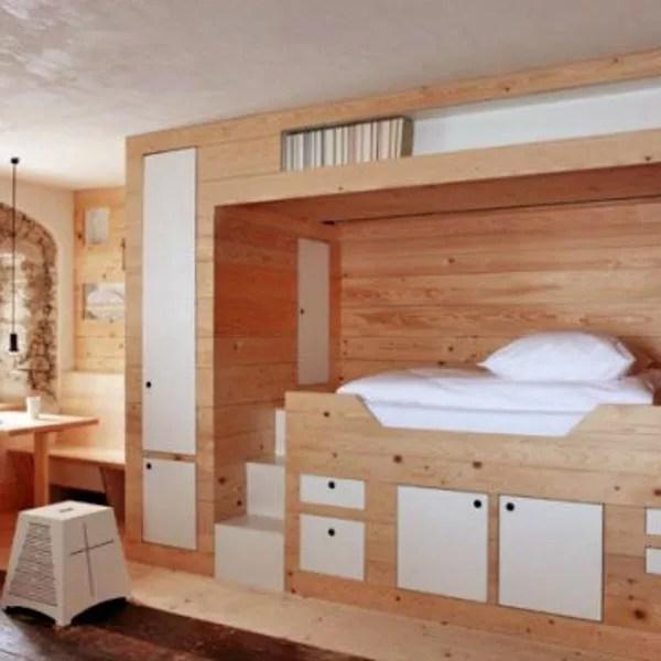 meuble gain de place chambre