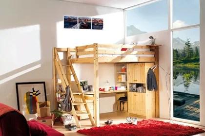 Un Lit Mezzanine Pour Gagner De La Place Ct Maison