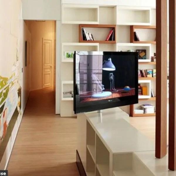 comment installer la tele dans le salon