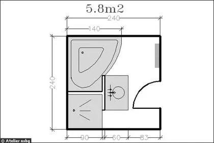 18 Plans De Salle De Bains De 5 A 11 M2 Decouvrez Nos Plans Gratuits Cote Maison